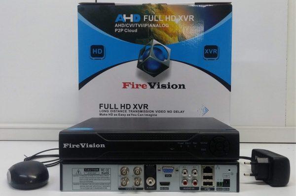 FireVision XVR 4CH  AHD 1080